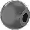 Unthreaded-Hole Ball Knobs