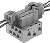 Modular Air Directional Control Valves with Air Manifolds