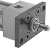 Front/Rear Flanges for Hydraulic Cylinders