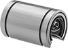 Linear Ball Bearings for Support Rail Shafts