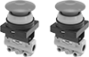 Remote-Location Two-Hand Single-Action Air Directional Control Valves