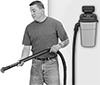 Wall-Mount Wet/Dry Vacuum Cleaners