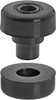 Easy-to-Install Vibration-Damping Mounts with Unthreaded Hole