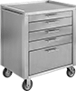 Stainless Steel Bench-Height Cabinets