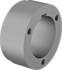 Split-Tapered Weld-On Bushing-Bore Hubs