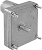 Compact Square-Face DC Gearmotors