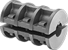 Two-Piece Shaft Coupling Bridges