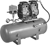 Oil-Free Electric Vacuum Pumps with Tank