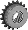 Wear-Resistant Wide-Hub Idler Sprockets for ANSI Roller Chain