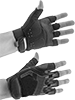 High-Dexterity Open-Finger Work Gloves