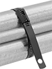 Plastic-Coated Stainless Steel Cable Ties