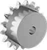 Machinable-Bore Corrosion-Resistant Sprockets for Metric Roller Chain
