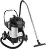 Plug-In Wet/Dry Vacuum Cleaners with Stainless Steel Tank