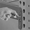 Locking Pins for Pallet Racks