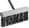 Steel Bristle Push Brooms for Rough Surfaces