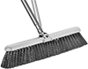 Low-Clearance Push Brooms for Rough Surfaces