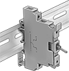 DIN-Rail Mount Miniature Toggle Switches