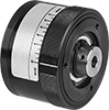 Magnetic Torque-Limiting Shaft-to-Gear Couplings