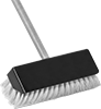 Multi-Angle Scrub Brushes with Extended-Reach Handle