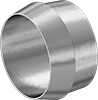 Sleeves for Precision Compression Fittings for Copper Tubing