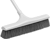 Choose-a-Color Push Brooms for Semi-Smooth Surfaces