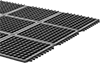 Grease-Resistant Interlocking Drainage Mats