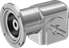 Sanitary Right-Angle Speed Reducers for Face-Mount AC Motors