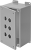 Stainless Steel Push-Button Corrosion-Resistant Washdown Enclosures