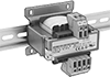DIN-Rail/Panel-Mount High-Inrush AC to AC Transformers