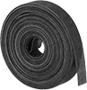 Clog- and Water-Resistant Sanding Rolls for Aluminum, Soft Metals, and Nonmetals