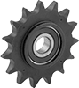 Lightweight Idler Sprockets for ANSI Roller Chain