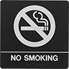 ADA-Compliant Smoking Control Signs
