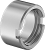 Lock Rings for Drill Bushings for Thin Metal