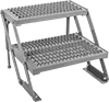 Equal-Rise Adjustable-Height Work Platforms