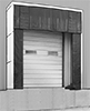 Self-Aligning Dock Door Shelters