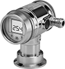 Sanitary Easy-Setup Pressure and Vacuum Transmitters