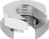 Stainless Steel Slip-On Twist-Close Nuts