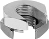 Steel Slip-On Twist-Close Nuts