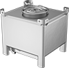 Sanitary Easy-Drain Tanks