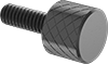 Steel High-Profile Knurled-Head Thumb Screws