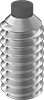 Metric Stainless Steel Nylon-Tip Set Screws