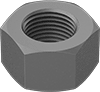 Low-Strength Steel Hex Nuts