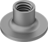 Steel Round-Base Weld Nuts