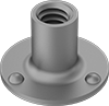 Round-Base Weld Nuts with Projections