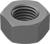 Metric High-Strength Steel Hex Nuts—Class 10