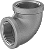 Premium Low-Pressure Stainless Steel Threaded Pipe Fittings with Certification