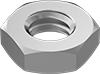 Metric 18-8 Stainless Steel Thin Hex Nuts