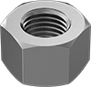 Metric Steel High Hex Nuts