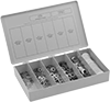 Assortments of Locknuts with External-Tooth Lock Washer
