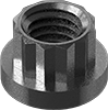 Steel High-Torque 12-Point Flange Nuts